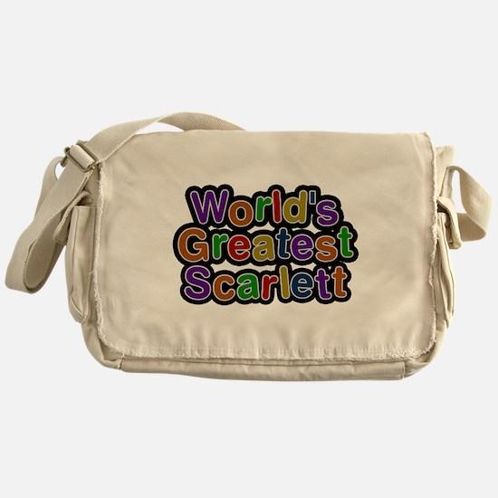 Worlds Greatest Scarlett Messenger Bag