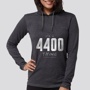 It's a 4400 Thing Womens Hooded Shirt