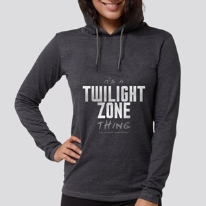 It's a Twilight Zone Thing Womens Hooded Shirt