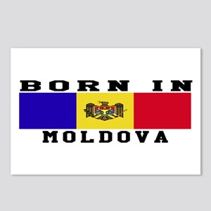 Born In Moldova Postcards (Package of 8)