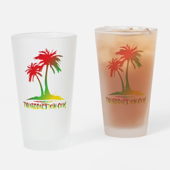 PALMS - RASTA Drinking Glass