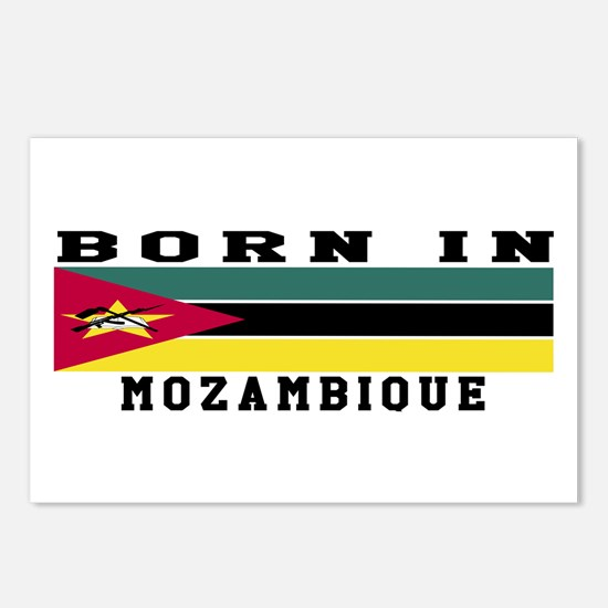 Born In Mozambique Postcards (Package of 8)
