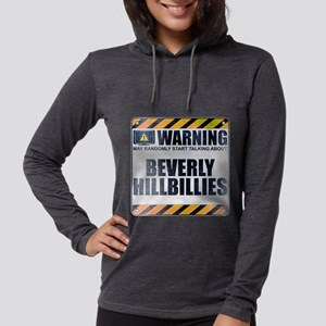 Warning: Beverly Hillbillies Womens Hooded Shirt