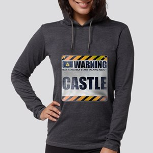 Warning: Castle Womens Hooded Shirt