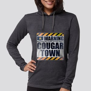 Warning: Cougar Town Womens Hooded Shirt
