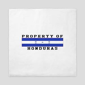 Property Of Honduras Queen Duvet