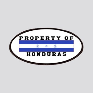 Property Of Honduras Patches