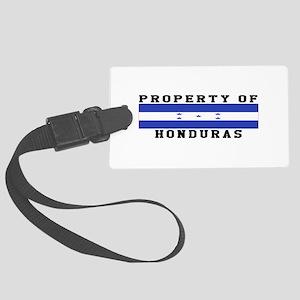 Property Of Honduras Large Luggage Tag