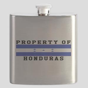 Property Of Honduras Flask