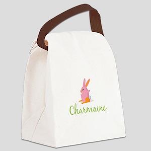 Easter Bunny Charmaine Canvas Lunch Bag