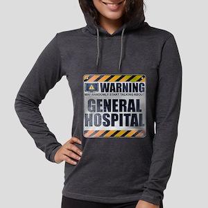 Warning: General Hospital Womens Hooded Shirt