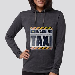 Warning: Taxi Womens Hooded Shirt