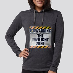 Warning: The Twilight Zone Womens Hooded Shirt