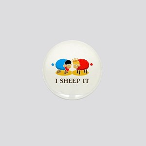 I Sheep It Mini Button