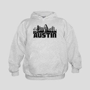 Austin Skyline Kids Hoodie