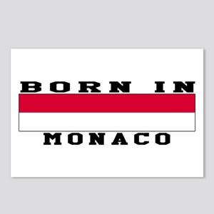 Born In Monaco Postcards (Package of 8)