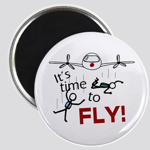 'Time To Fly' Magnet