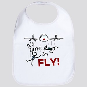'Time To Fly' Bib