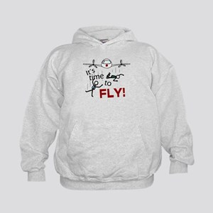'Time To Fly' Kids Hoodie