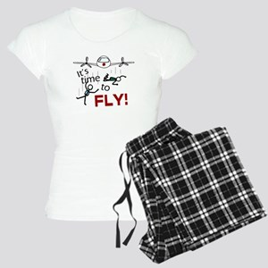 'Time To Fly' Women's Light Pajamas