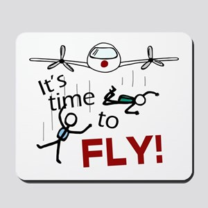 'Time To Fly' Mousepad