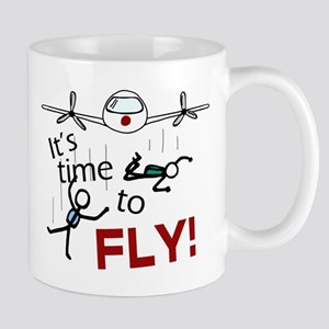 'Time To Fly' Mug