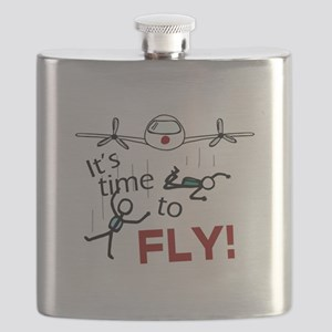 'Time To Fly' Flask