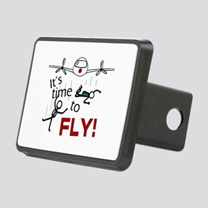 'Time To Fly' Rectangular Hitch Cover
