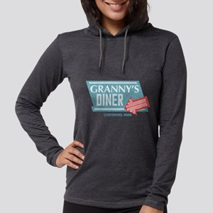 Granny's Diner Womens Hooded Shirt
