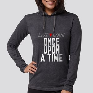 Live Love Once Upon a Time Womens Hooded Shirt