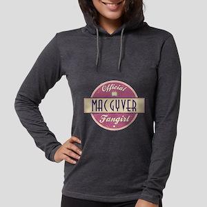 Official MacGyver Fangirl Womens Hooded Shirt