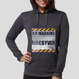 Warning: MacGyver Womens Hooded Shirt