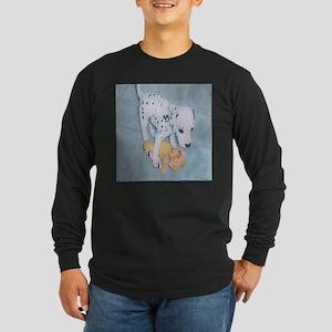 Roxie the Dalmatian Pup Long Sleeve T-Shirt