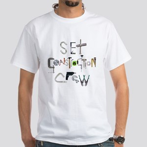 Tools of the Trade Construction White T-Shirt