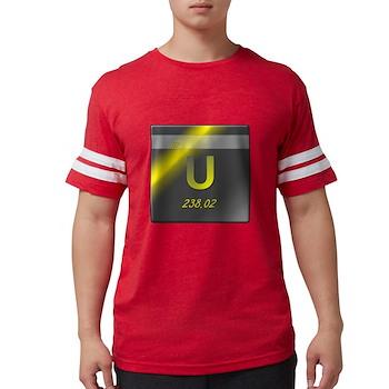 Uranium (U) Mens Football Shirt