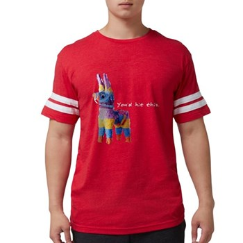 You'd Hit This Mens Football Shirt