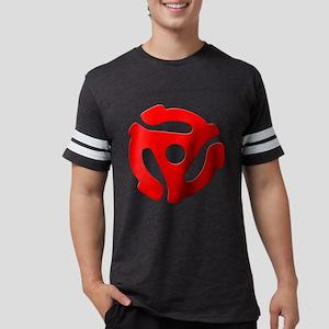 Red 45 RPM Adapter Mens Football Shirt