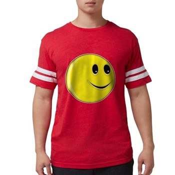 Smiley Face - Looking Left Mens Football Shirt