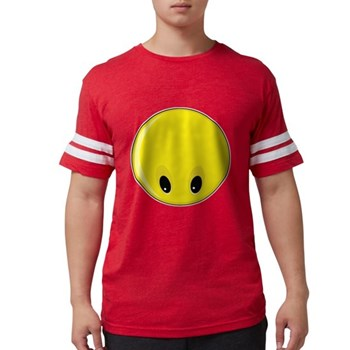 Smiley Face - Looking Down Mens Football Shirt