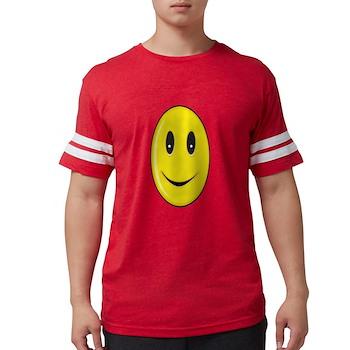 Long Face - Smile Mens Football Shirt