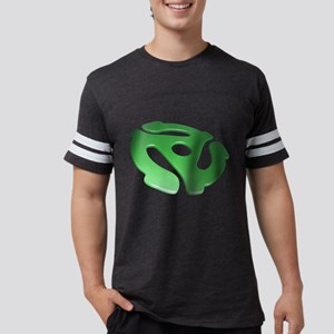 Green 3D 45 RPM Adapter Mens Football Shirt