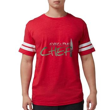 Green Executive Chef Mens Football Shirt