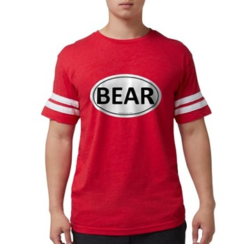 BEAR Euro Oval Mens Football Shirt