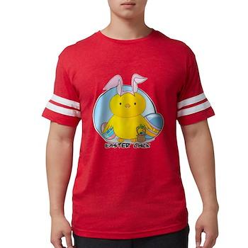 Easter Chick Mens Football Shirt