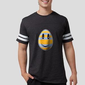 Smiley Easter Egg Mens Football Shirt