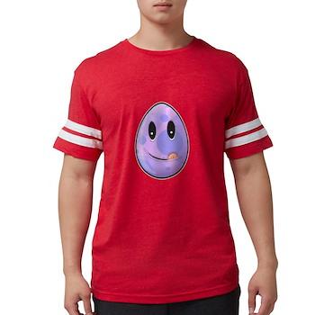 Polka Dot Easter Egg Mens Football Shirt