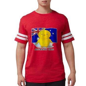 Australian Chick Mens Football Shirt