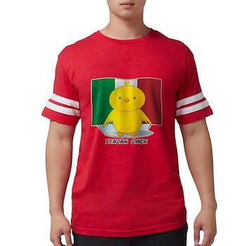 Italian Chick Mens Football Shirt