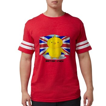 British Chick Mens Football Shirt