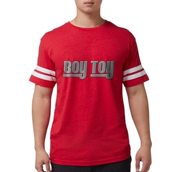 Boy Toy - Gray Mens Football Shirt
